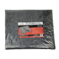 Couverture d'urgence multi-fibres First Aid Central grise, 41 po x 72 po