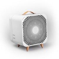 Pure Ventilateur Automatique, 3 vitesses + mode automatique, blanc