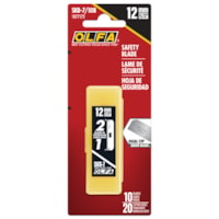 OLFA SKB-7 Safety Knife Replacement Blades, Pack of 10