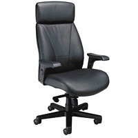Nightingale Presider Executive High-Back Leather Chair