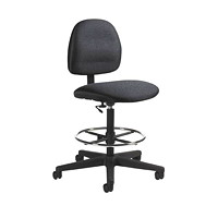Global Programm Low-Back Drafting Stool