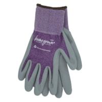 Gants de travail en tricot de polyester recyclé pour femmes 375 Karma Watson Gloves, moyenne, violet, emb. de 6 paires