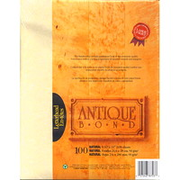 St. James Antique Bond Paper, Natural Colour, FSC Certified, 24 lb., 8 1/2