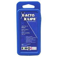 Emballage de 100 lames classiques à pointe fine X-Life X-Acto