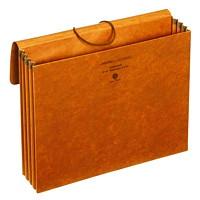 Porte-documents extensible en carton à maroquinerie avec soufflets roulés doublés de Tyvek Pendaflex