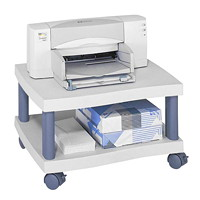 Safco Under Desk Wave Design Printer Stand