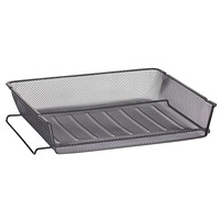 Grand & Toy Black Mesh Self-Stacking Side-Load Trays