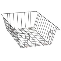 Grand & Toy Black Legal-Size Wire Desk Tray