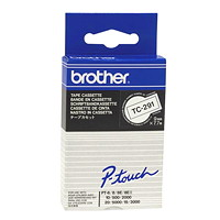 Brother P-Touch TC-Series Laminated Label Tapes