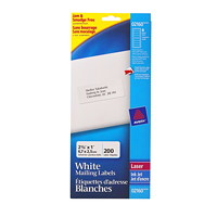 Avery 2160 Mini-Sheet Address/Mailing Labels, White, 2 5/8