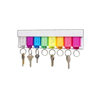 MMF Industries Multi-Coloured Key Rack