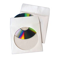 Quality Park Protective CD/DVD Envelopes, 100/BX