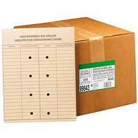 Grand & Toy Inter-Department Recycled Natural Kraft Double-Sided Envelopes
