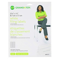 Grand & Toy White Laser/Inkjet Filing Labels