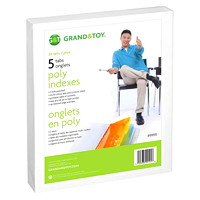 Intercalaires en poly Grand & Toy