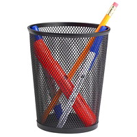 Grand & Toy Black Mesh Pencil Cup
