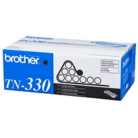 Brother Black Standard Yield Laser Toner Cartridge (TN330)