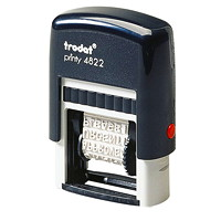 Trodat Printy 4822 Self-Inking Dial-A-Phrase Stamp