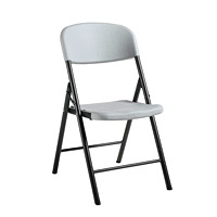 Offices To Go LiteLift II Armless Folding Chairs - Set of 4