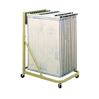 Safco Vertical File Mobile Stand
