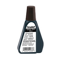 Trodat 7011 Stamp Pad Black Ink Refill, 28 mL
