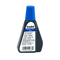 Trodat 7011 Stamp Pad Blue Ink Refill, 28 mL