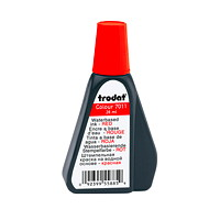 Trodat 7011 Stamp Pad Red Ink Refill, 28 mL