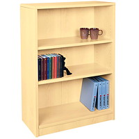 HDL 3-Shelf Hardrock Maple Bookcase