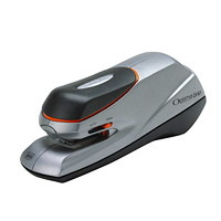 Swingline Optima Grip Electric Half-Strip Stapler, Silver, 20 Sheet Capacity