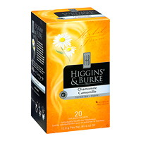 Higgins & Burke Gourmet Selection Herbal Tea, Chamomile, 20/BX