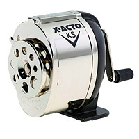 X-Acto Model KS Manual Crank Pencil Sharpener