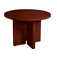 "Mayline Aberdeen 42"" Round Conference Table"