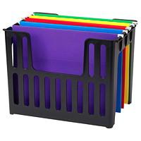 Grand & Toy Hanging File Holder, Black, Letter Size