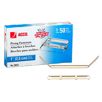 Acco 2-Piece Steel Prong Fasteners