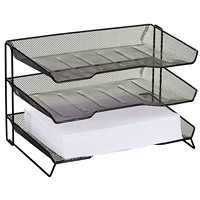 Rolodex 3-Tier Letter Tray