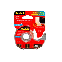Scotch Removable Poster Tape with Dispenser