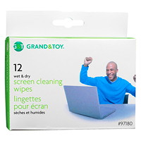 Grand & Toy Screen Cleaning Wipes
