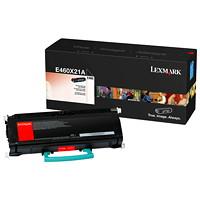 Cartouche de toner à rendement très élevé Lexmark E460 (E460X21A), noir
