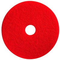 Prime Source Spray Buffing Floor Pads, Red, 14