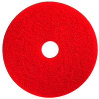RED SPRAY BUFFING PADS 21''