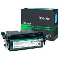 Lexmark 12A3160 Black High Yield Reconditioned Toner
