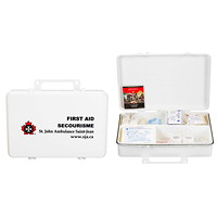 St. John Ambulance Alberta #2 Workplace First Aid Kit with Plastic Box, 10-49 Employees