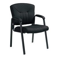 Grand & Toy 800 Series Armchair, Black, Drama Fabric