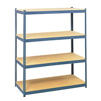 Safco Archival Shelves 4-Pk