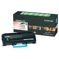 Cartouche de toner à rendement standard Lexmark X264, X363, X364 Programme de retour (X264A11G), noir