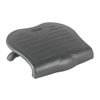 Kensington Solesaver Ergonomic Footrest, Black