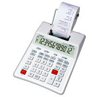 Canon Eco-Friendly Palm Printing Calculator