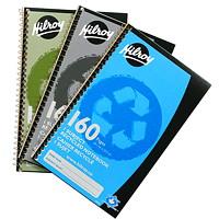 Cahier de papier recyclé Hilroy