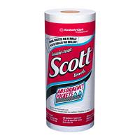 Cuisine serviettes absorbants blancs à 1 épaisseur Scott