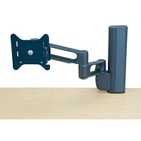 Kensington Column-Mount Monitor Arm with SmartFit System